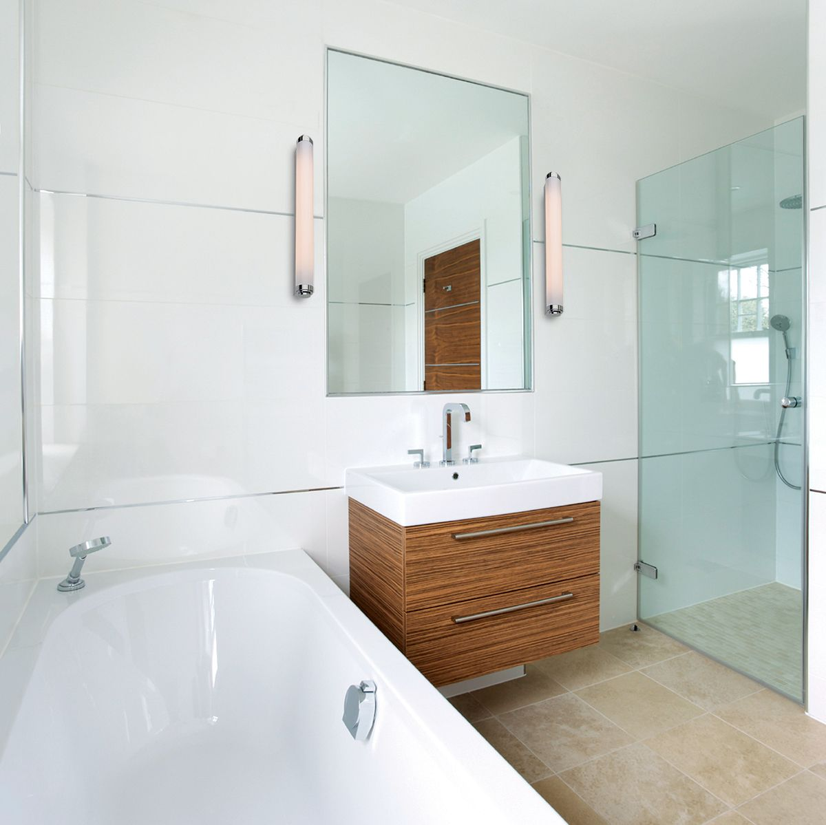 We have a great selection of Bathroom Mirror Light, Bathroom Mirror ...