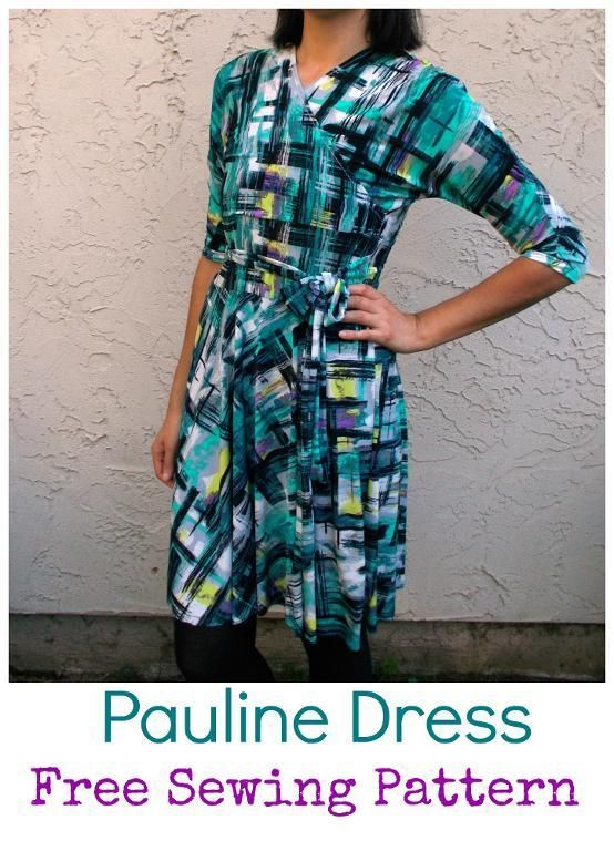 Pauline Dress Pattern | Sewing patterns, Easy dress and Dress patterns