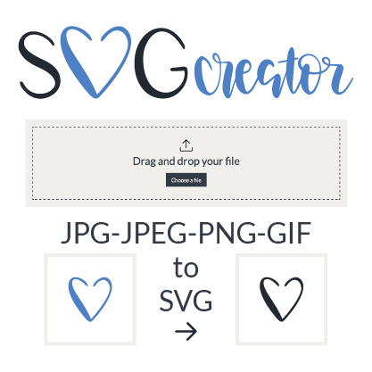 Convert Jpg To Svg Jpeg To Svg Png To Svg And Gif To Svg The Perfect Converter To Transform Jpg Jpeg Png Or Gif Files Wit Cricut Free Cricut Tutorials Svg