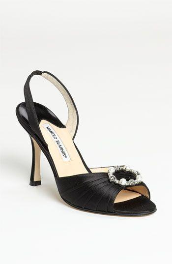 Manolo Blahnik Sedaraby Embellished Slingback Sandals cheap shop for JDhM8