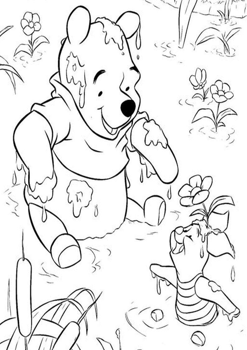 Kolorowanka Kubus Puchatek I Prosiaczek Obrazek Do Wydruku Nr 104 In 2020 Cartoon Coloring Pages Disney Coloring Pages Printables Disney Coloring Pages