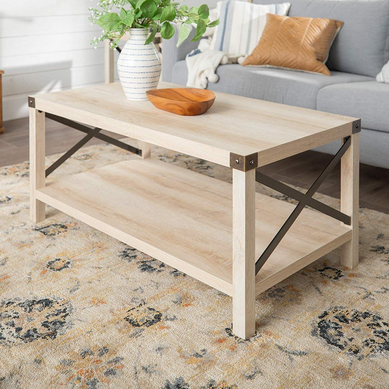 Coffee Table White Oak Coffee Table Living Room Coffee Table Coffee Table [ 1500 x 1500 Pixel ]