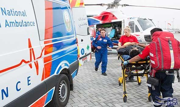 إصابة 10 مواطنين بينهم 6 أطفال إثر…: أصيب 10 مواطنين من أسرتين، بينهم ستة أطفال، بإصابات راوحت بين المتوسطة والبليغة، إثر حادث تصادم بين…