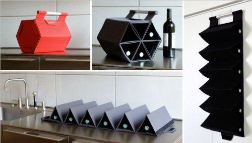 Portable, Hangable Wine-Rack by ZEbag