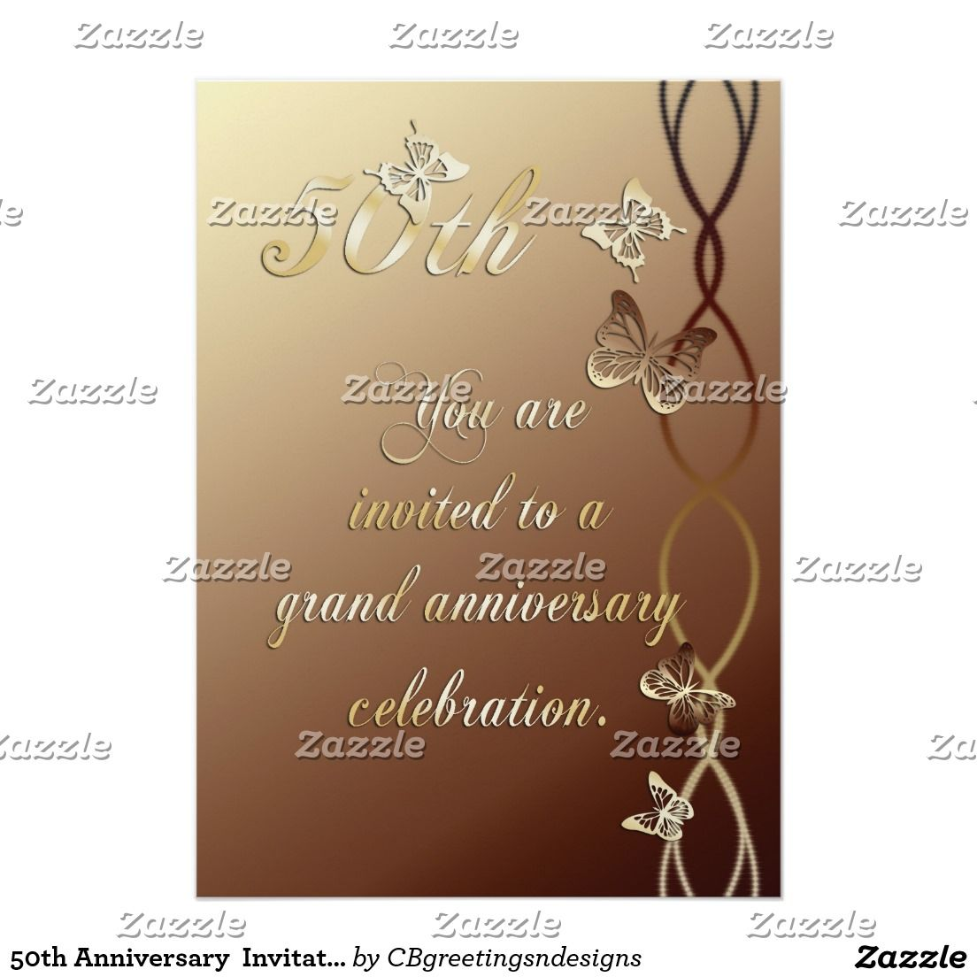 Th anniversary invitation cbgreetings greeting cards pinterest