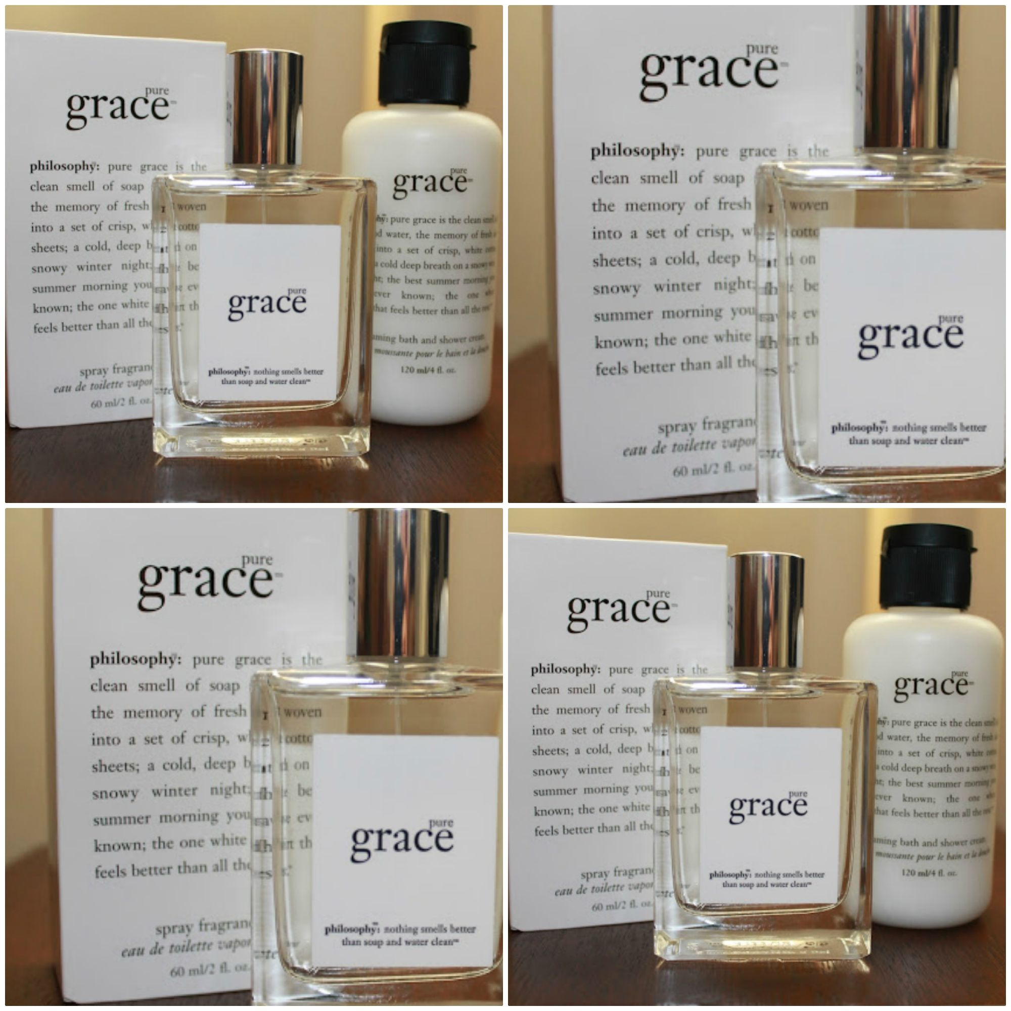 Philosophy Pure Grace Perfume Pure Products Perfume Perfume Collection