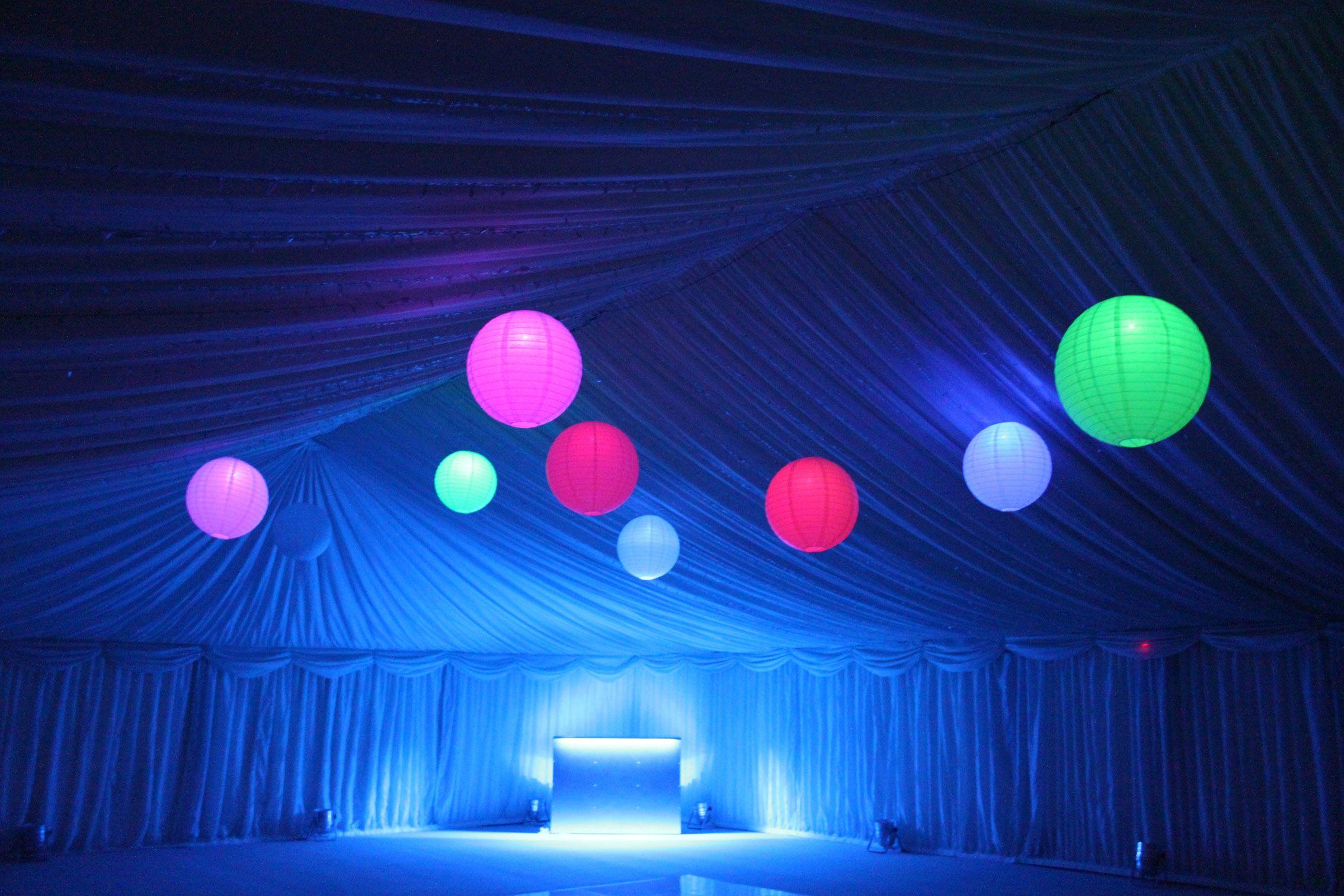 Light blue wedding decoration ideas  tent with lanterns  Wedding Ideas  Pinterest  Wedding
