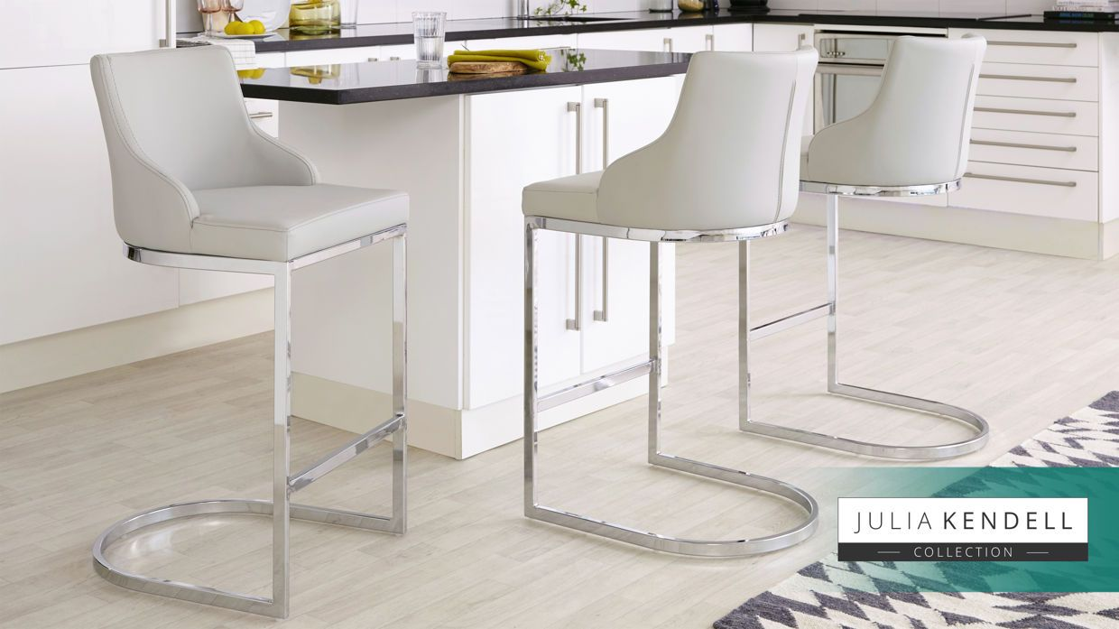 Wondrous Form Chrome Bar Stool With Backrest In 2019 Chrome Bar Caraccident5 Cool Chair Designs And Ideas Caraccident5Info