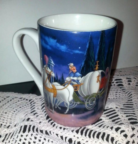 Cindirella design Disney showcase collection coffee mugs home decor, gift #disneycoffeemugs