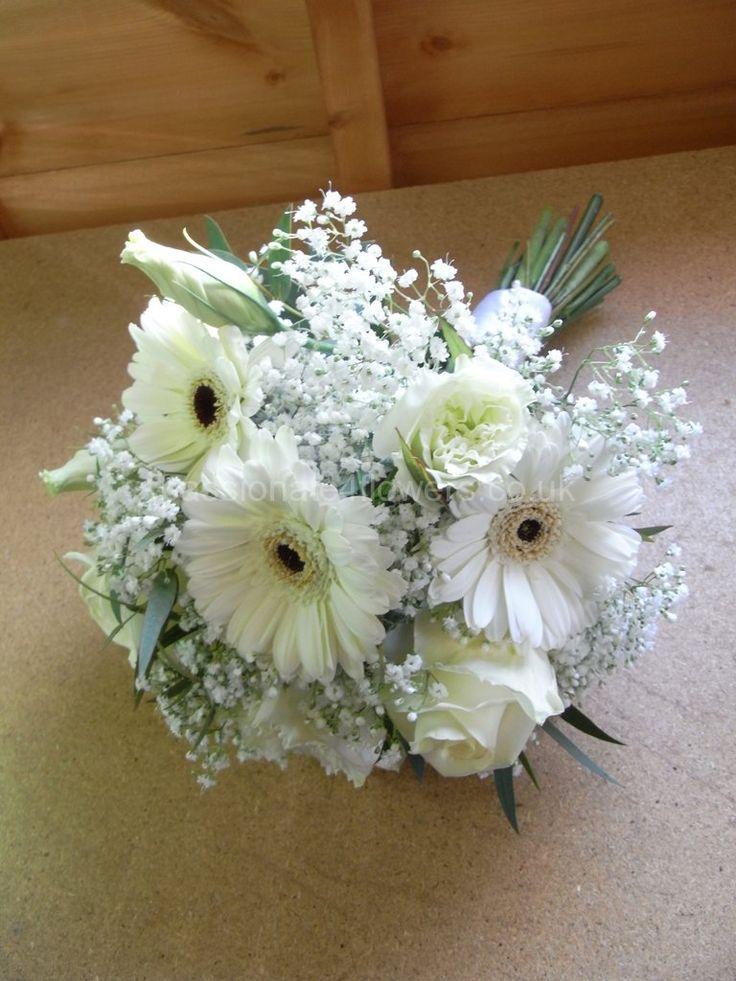Resultado De Imagem Para Bouquet Of Baby S Breath Blumenstrauss Hochzeit Brautstrauss Gerbera Lisianthus Brautstrauss