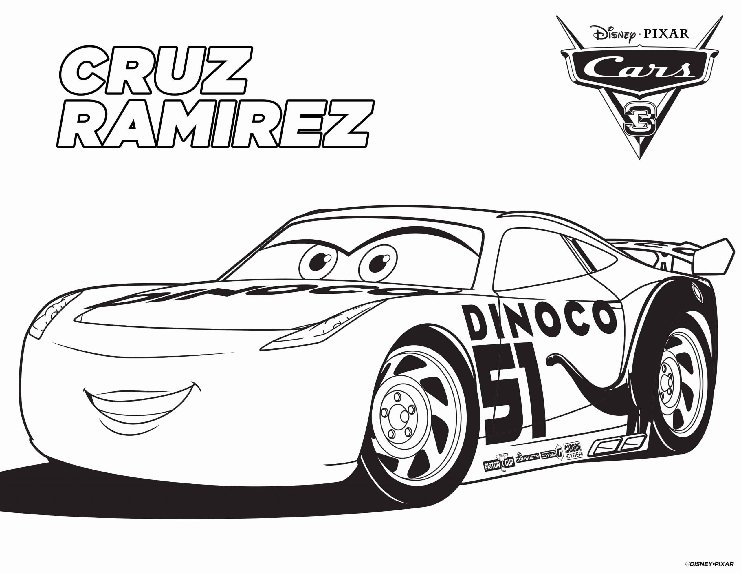 Jackson Storm Coloring Page Inspirational Free Cars 3 ...