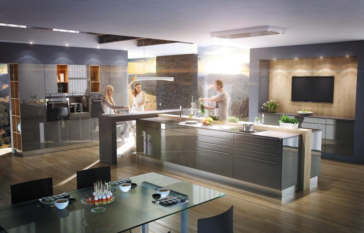 Ewe Küchen ~ Moderne küchen von ewe gerade linien persönlicher stil und