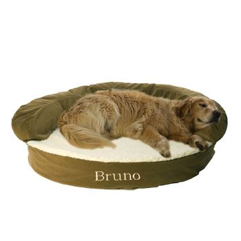 Pin By Girrly Daug On Things For My Dogs Bolster Dog Bed Pet Companies Orthopedic Dog Bed