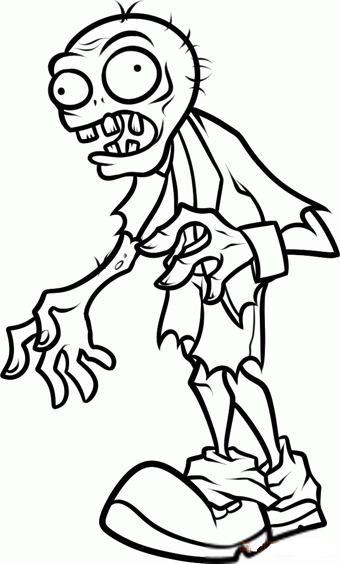 Plants Vs Zombies Coloring Pages To Download And Print For Free Plant Zombie Zombie Drawings Coloring Pages