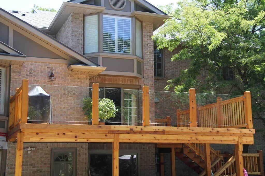 Gl Deck Railing Add A Little Sparkle Railings
