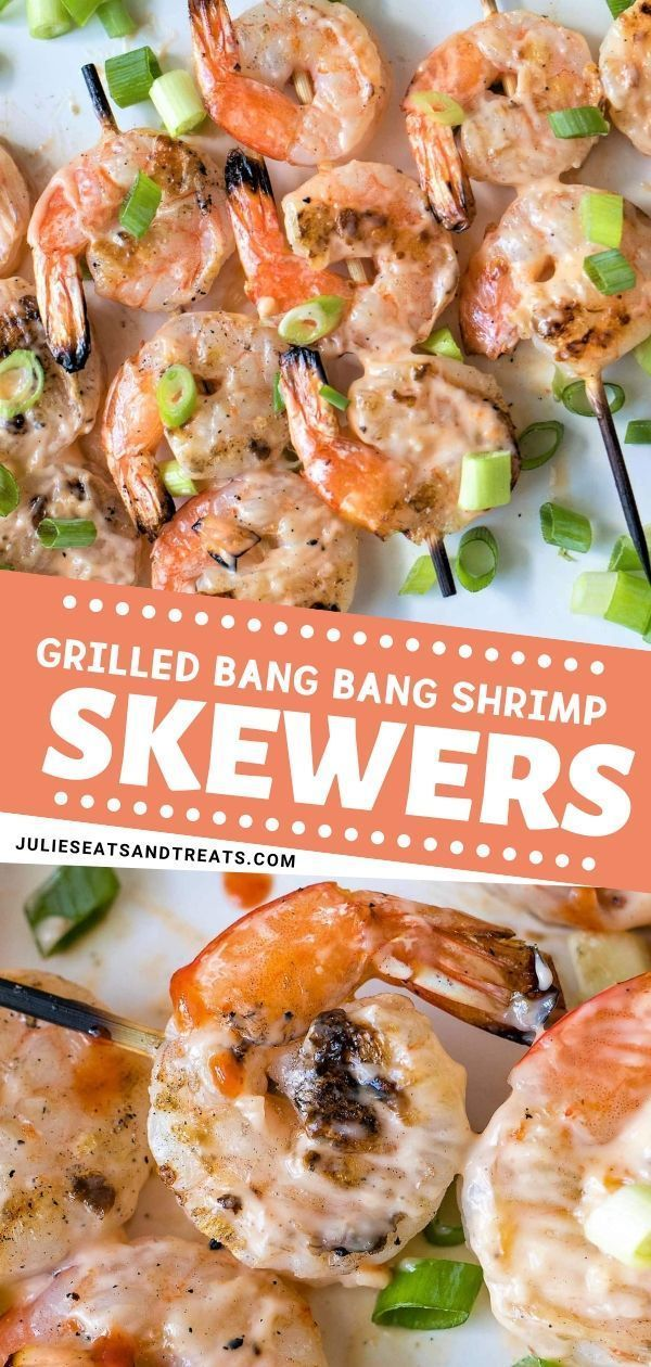 Grilled Bang Bang Shrimp Skewers
