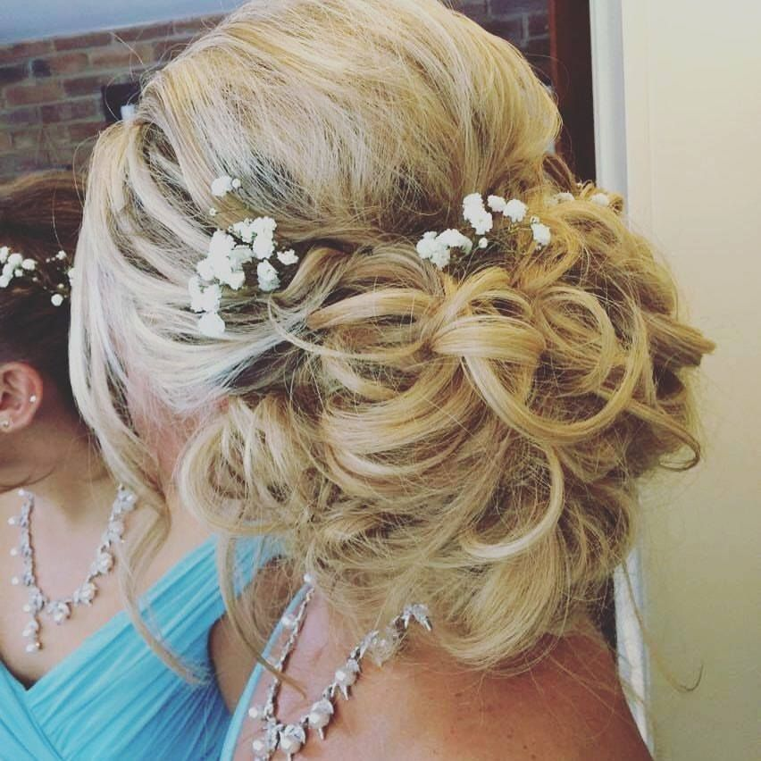 Hair Up By Clare Updo Messy Updo Low Updo With Hair Extensions