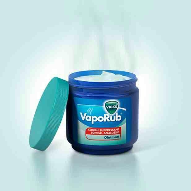 Vicks Vapor Rub- it's works wonders on flares caused by hidradenitis suppurativa