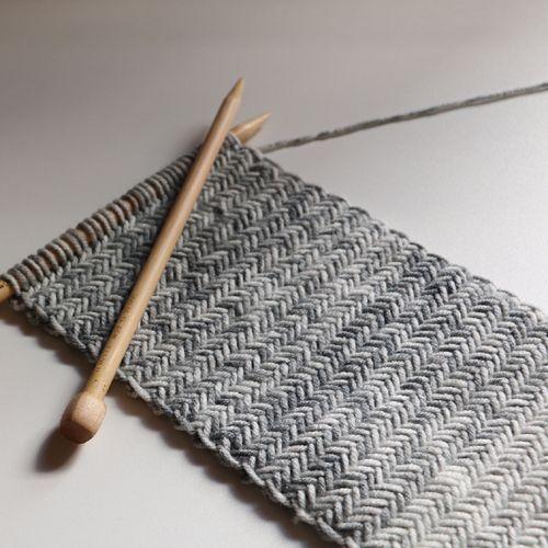 Herringbone Knit Scarf Free Pattern We Like Knitting Free
