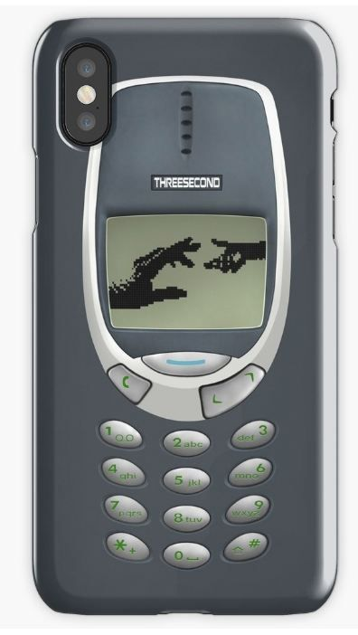 Retro Classic handphone iPhone Cases & Skins #iphonecase # ...