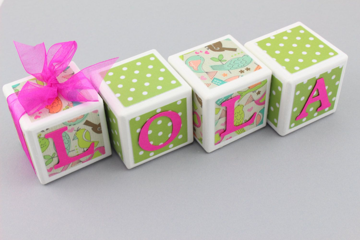Custom baby name blocks baby shower baby gift newborn whimsical custom baby name blocks baby shower baby gift newborn whimsical nursery bird nursery photography props baby negle