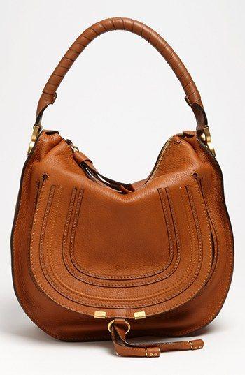 Chloé  Marcie  Leather Hobo  b525dccad27