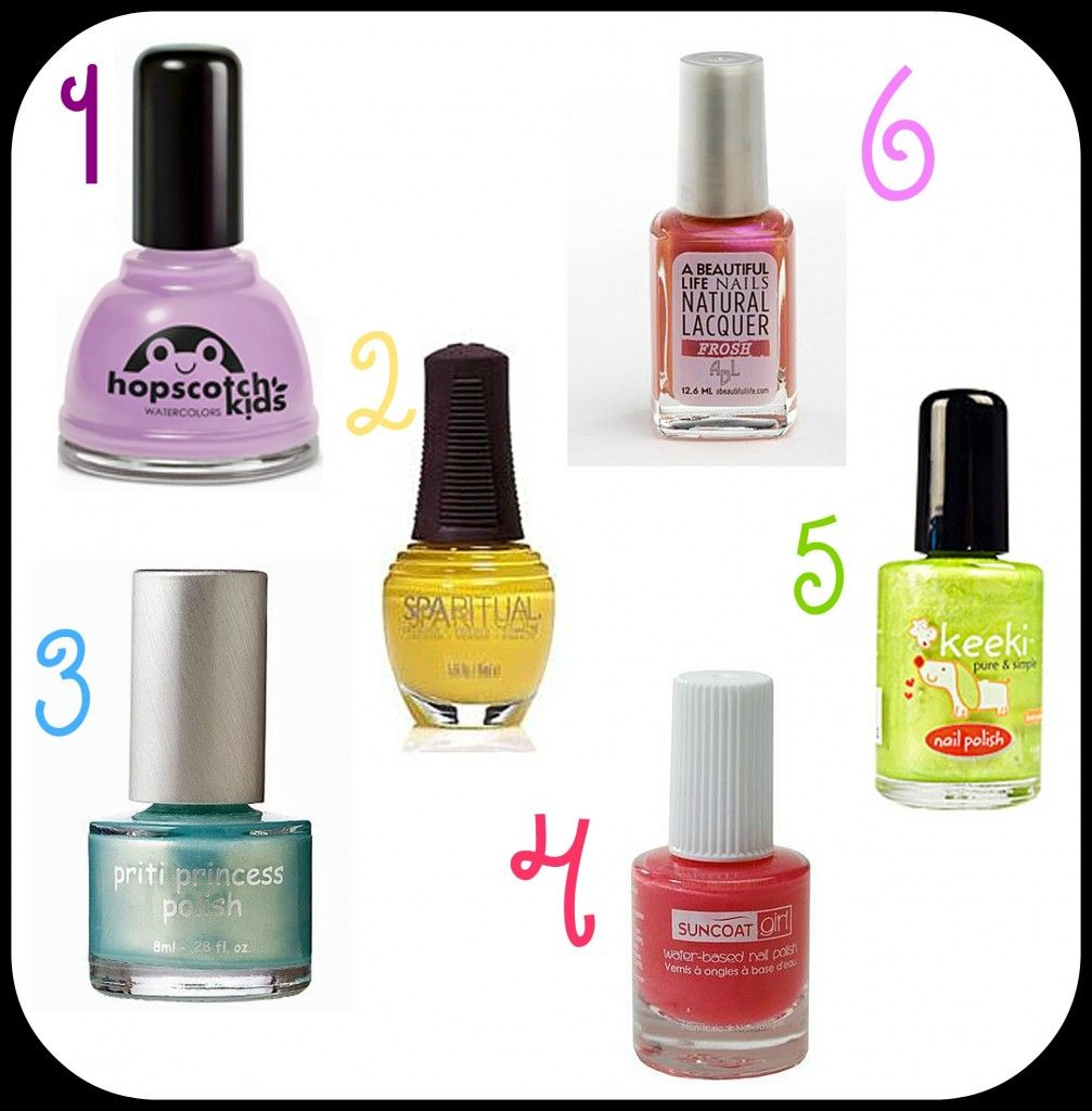 Kid safe nail polish - no piggy paint? | Fun stuff for the kids ...