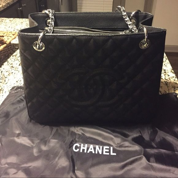 9ec8b4c2b06d Chanel GST (Grand shopping tote) Authentic Chanel GST- Made in France. Never