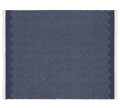 jensen diamond rug blue potterybarn for the home pinterest rh pinterest com