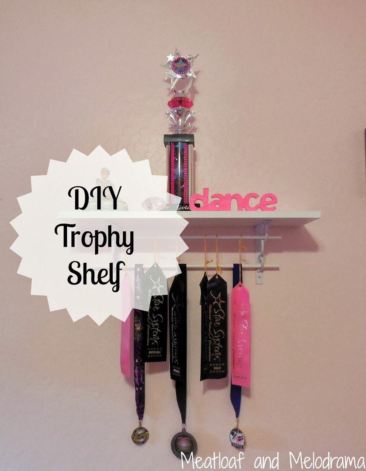 Diy Trophy Shelf Make Your Own