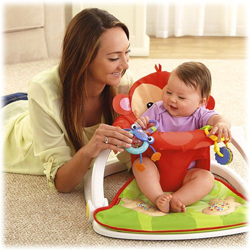 Deluxe Sit-Me-Up Floor Seat | Floor seating, Fisher price and Fisher