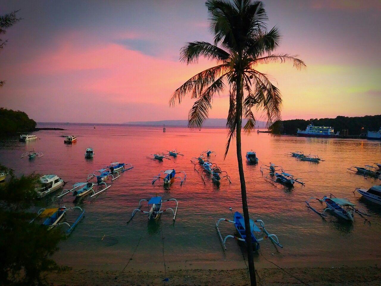 Sunset Padangbai Bali Is Very Spiritual Like A Dream Painting Bali Beaches Bali East Coast