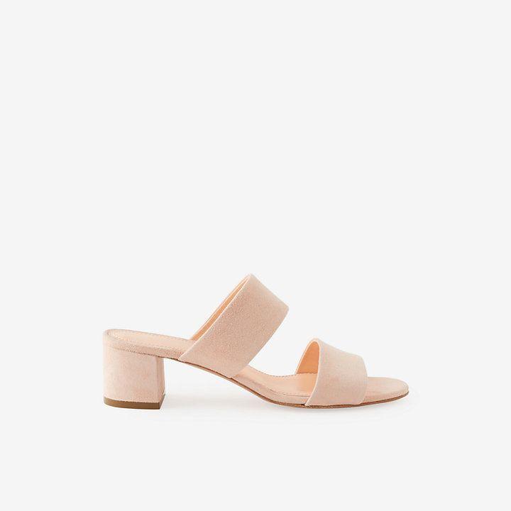 MANSUR GAVRIEL suede double strap sandals | Double strap