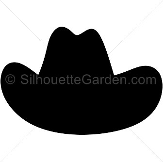 cowboy hat silhouette clip art download free versions of the image rh pinterest com Western Hats and Boots Vintage Cowboy Clip Art