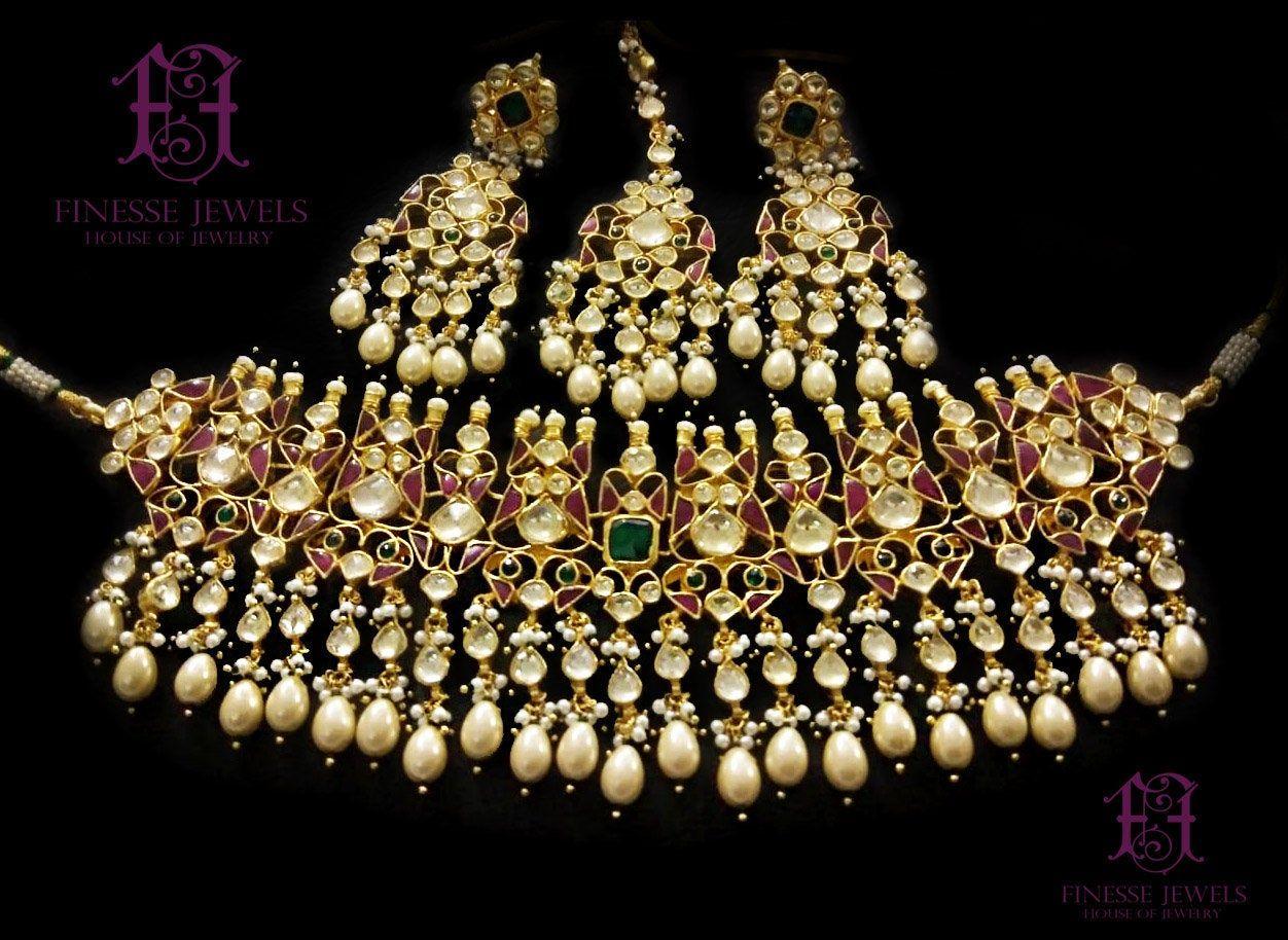 Indian Jewelry Set Kundan Choker Necklace Indian Necklace Etsy Indian Jewelry Sets Indian Choker Necklace Indian Jewelry