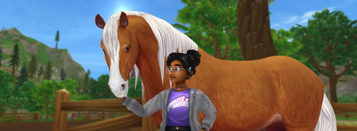A horse game online full of adventures! Star Stable