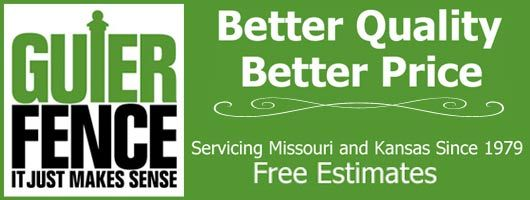 Kansas City Commercial And Residential Fence Contractors Guier Fence Fence Contractor Fence Missouri