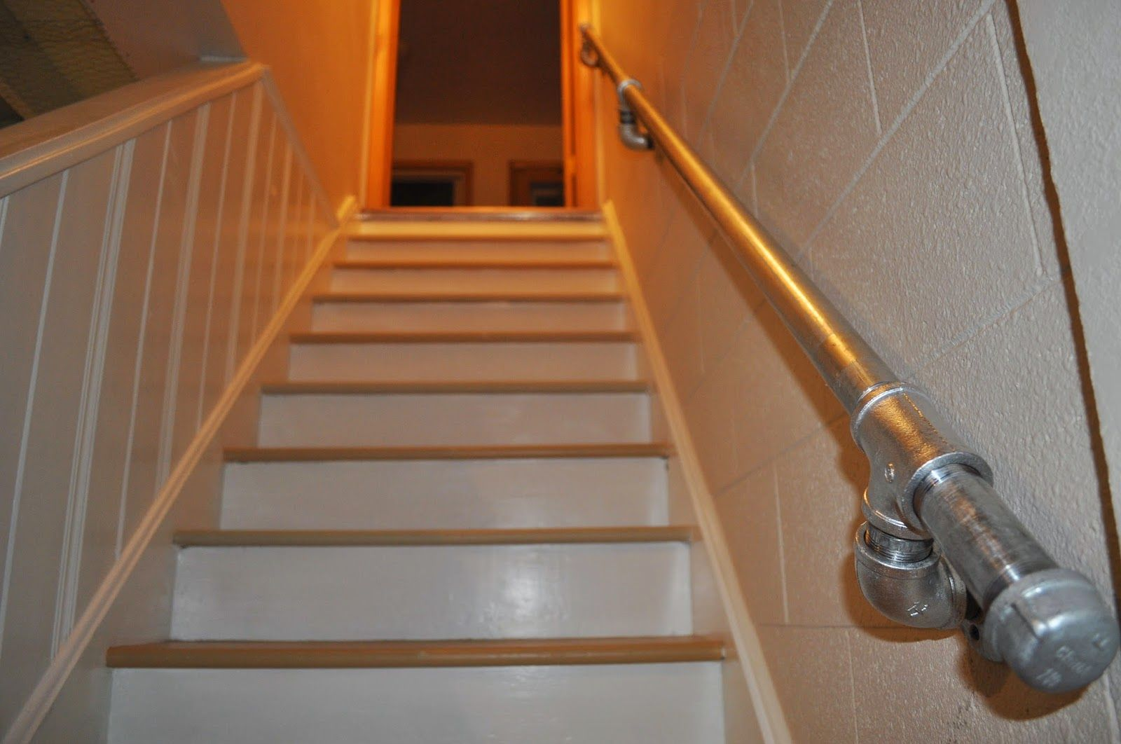 Best Diy Industrial Handrail Diy Stair Railing Paint Stairs Diy 400 x 300