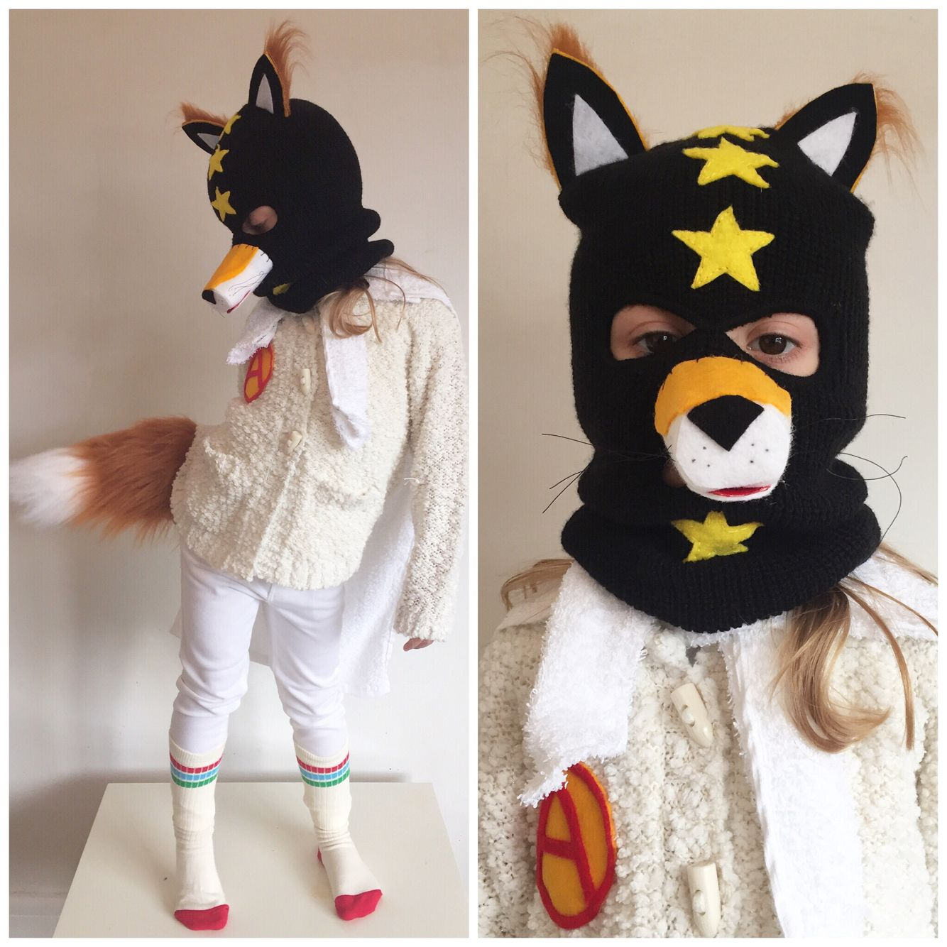 Quickly and simply sew a matryoshka costume for a girl