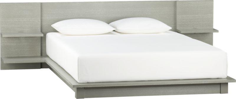 Andes Concrete Queen Bed In Bedroom Furniture