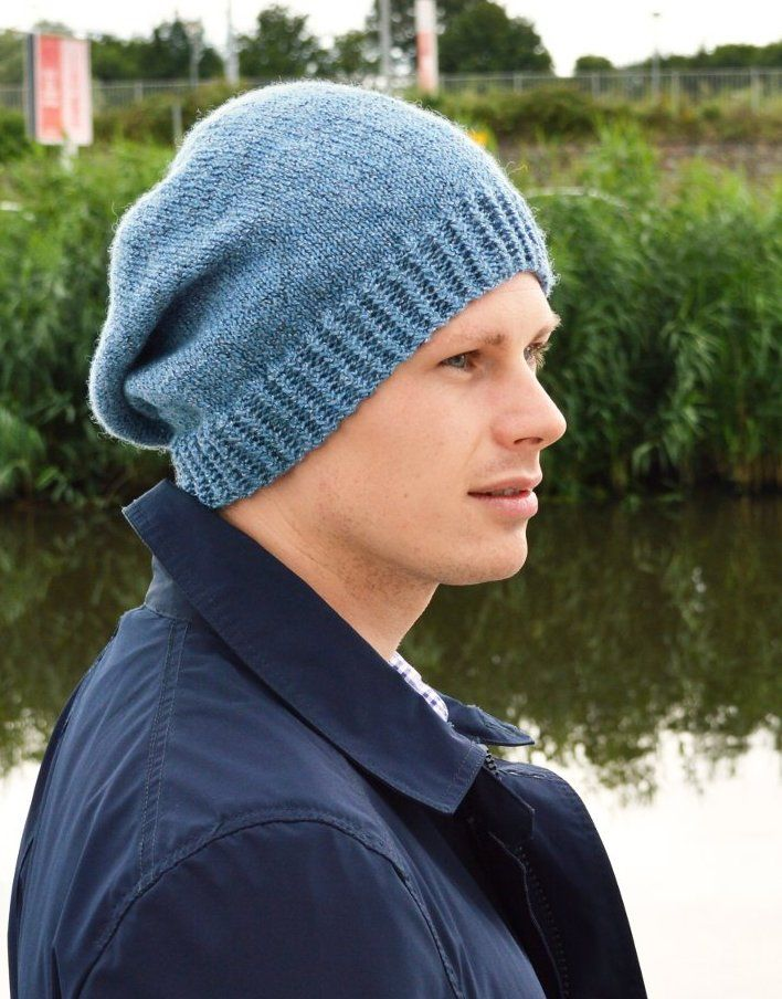 Humdrum is a straightforward hat with a brim in rick-rack rib and a simple e1646b83529