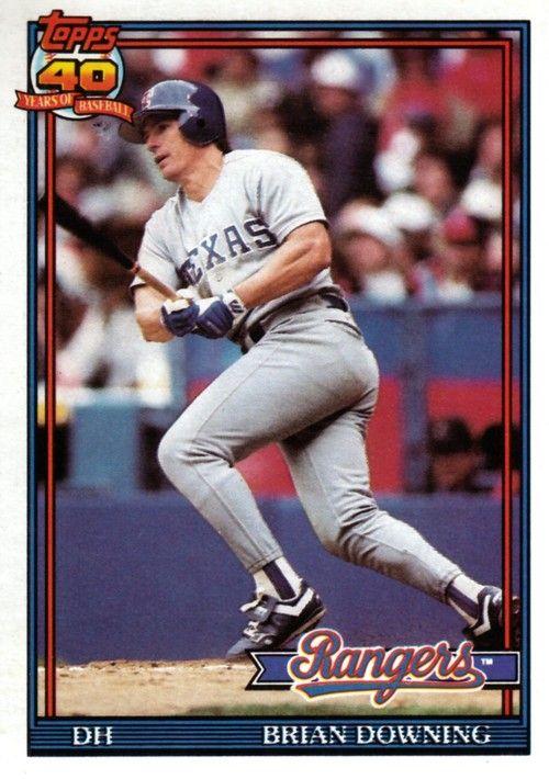 Brian Downing Sports Baseball Cards Baseball