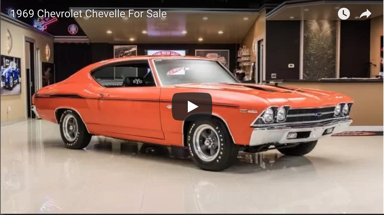 1969 Chevrolet Chevelle For Sale - https://www.musclecarfan.com/1969 ...