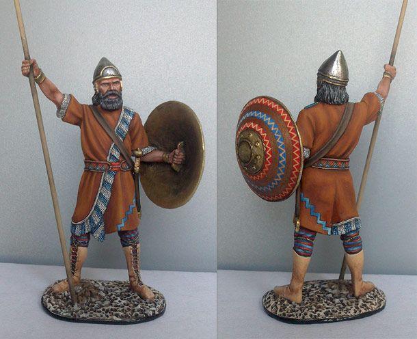 lancier assyrien du 8e siècle av.J.C.