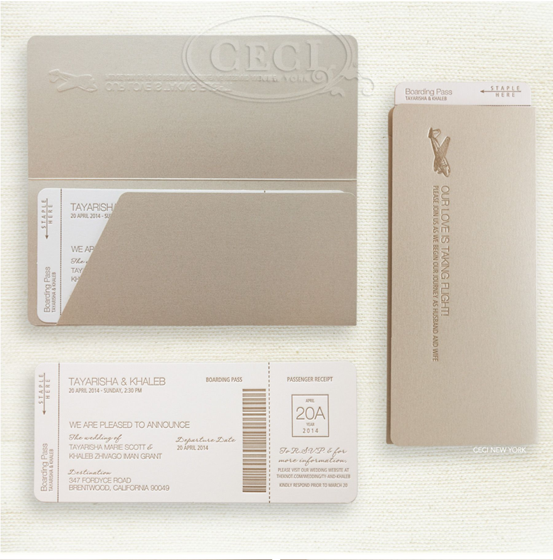 luxury wedding invitations by ceci new york our muse chic