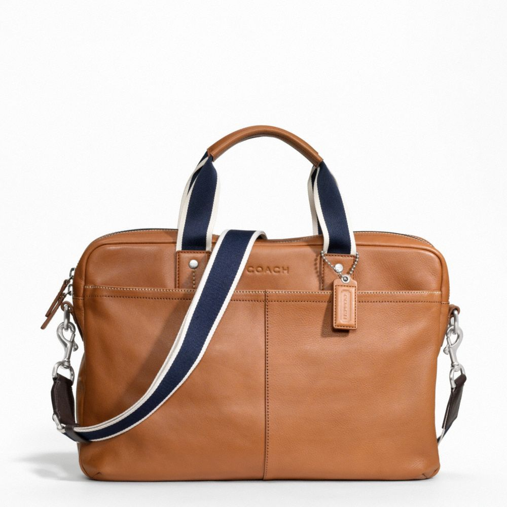 ffe2ba209588 Briefcases - Bags - MEN - Coach Factory Official Site