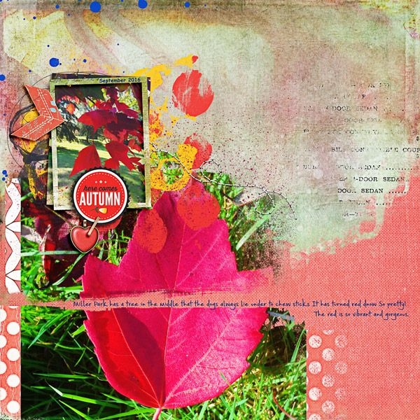 Lynn Grieveson - September Little Butterfly Wings - Autumn Happiness http://the-lilypad.com/store/September-Kit.html http://the-lilypad.com/store/Autumn-Happiness-Kit.html