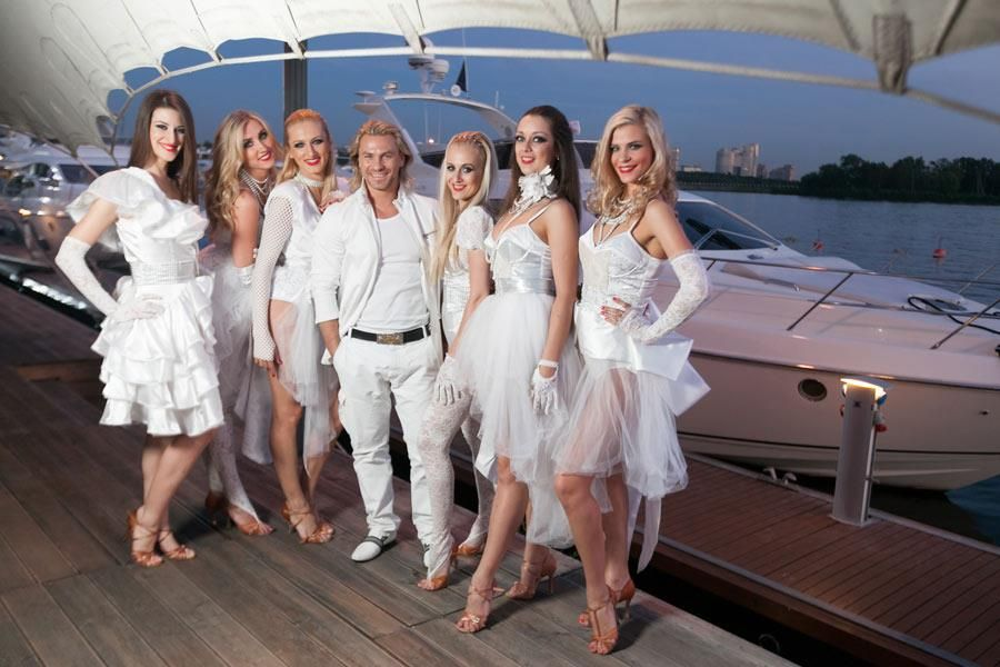 Azimut Yachts party in Moscow June 2012
