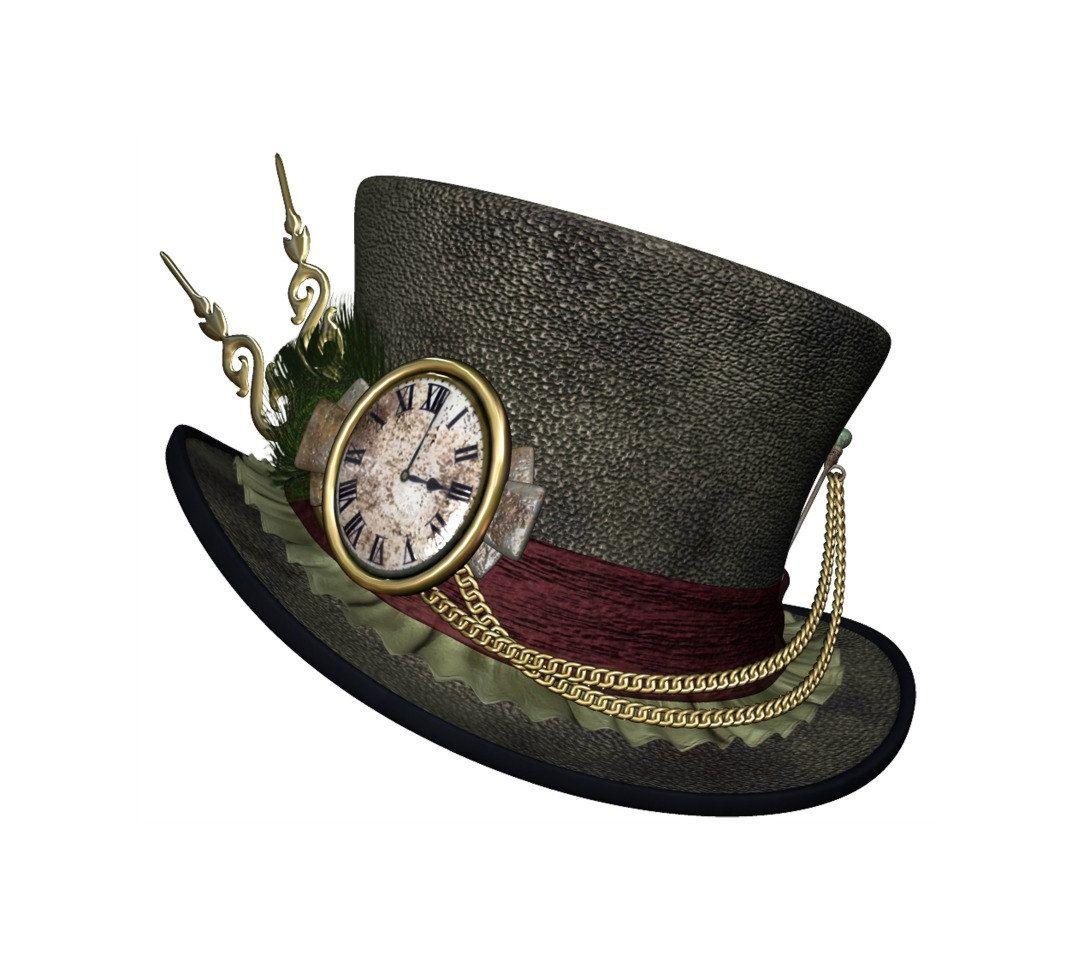 Steampunk Hat Digital Transfer Room