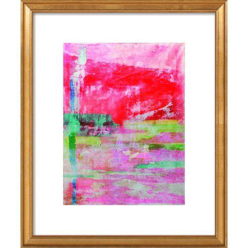 Traces of Frankenthaler Framed Giclee Print, Artfully Walls | Giclee ...